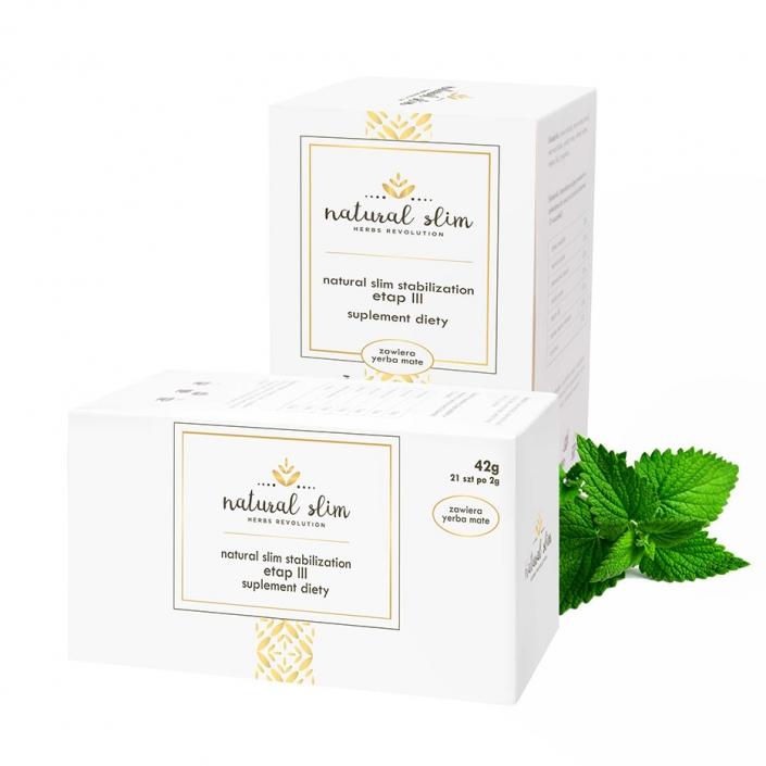 Fotografia produktu pudełka z herbatą listek mięty