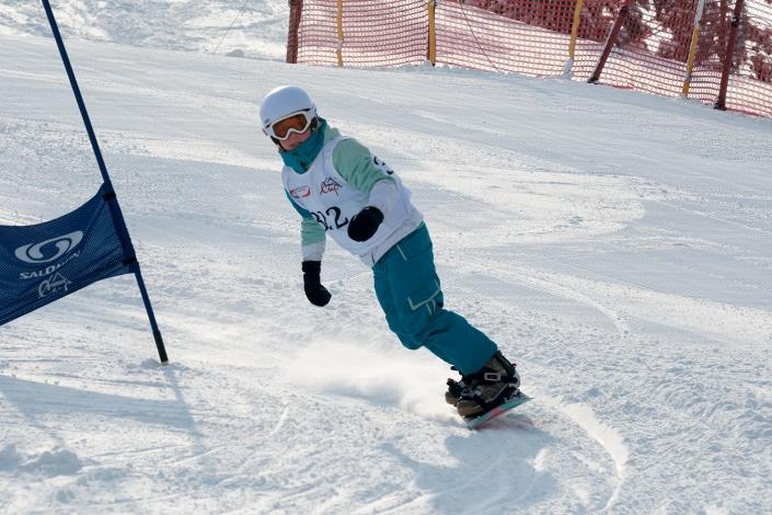 Fotorelacja z dziecięcych zawodów snowboardowych