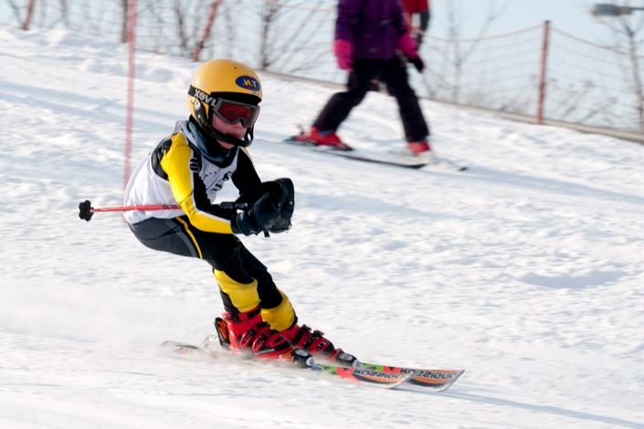 Fotorelacja z dziecięcych zawodów narciarskich