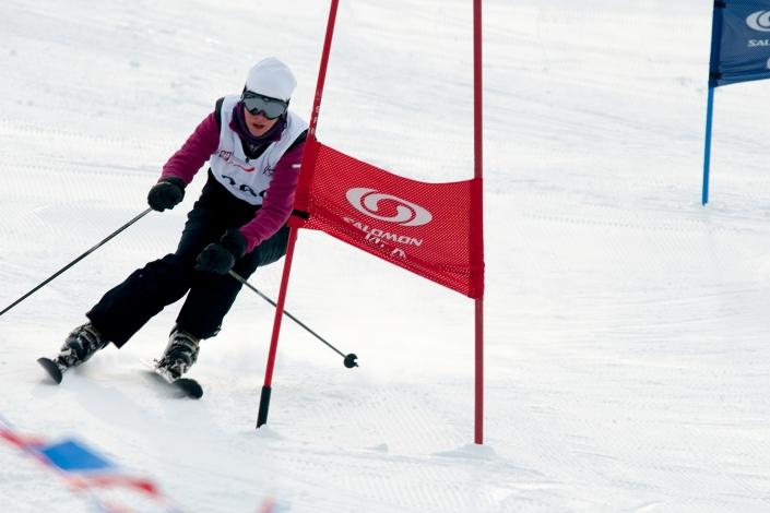 Fotografia sportowa - narciarskie zawody sportowe