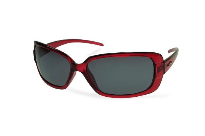 Zdjęcie produktu okulary przeciwsłoneczne prostokątne bordowe