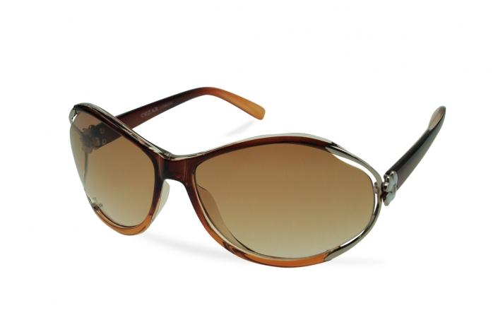 Zdjęcie produktu okulary przeciwsłoneczne damskie jasnobrązowe